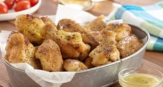 Lemon and Pepper Seasoning adds lively flavor to this favorite game day appetizer.