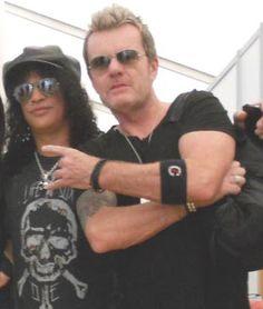 Slash & Billy Duffy