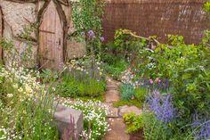 The Hermit's Garden (Back to Back Garden) at RHS Tatton Park Flower Show 2015.