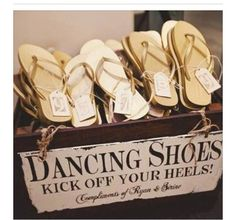 Put on your dancing shoes! Such a cute (and SMART) idea!