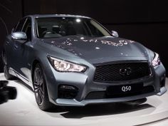 Infiniti Q50 shown at JIMS before South African launch