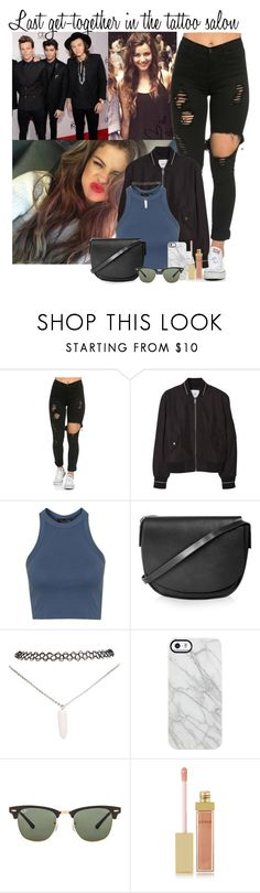 """24. Last get-together in the tattoo salon"" by queenxxbee ❤ liked on Polyvore featuring Calder, MANGO, Topshop, Wet Seal, Uncommon, Ray-Ban and AERIN"