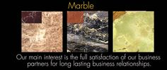 Our Marble Products