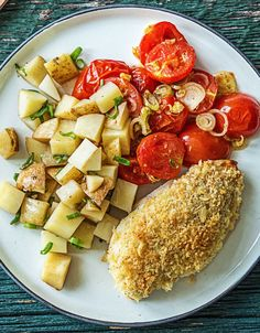 Easy oven-baked cripsy chicken recipe | More healthy meals on hellofresh.com