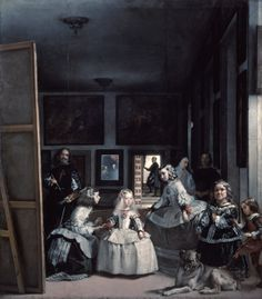 The first painting I ever fell in love with:  Las Meninas de Velázquez