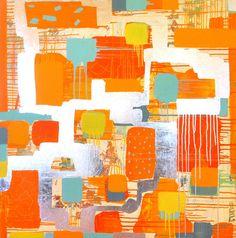 "Saatchi Online Artist Steve Lomprey; Mixed Media, ""POPPYFIELD"" #art"