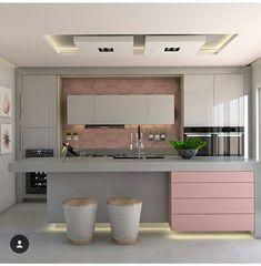 Kitcheninteriordesign Kitchen Interior Design In 2019 Home Decor Kitchen, Interior Design Kitchen, Modern Interior Design, Home Kitchens, Small Cupboard, Cuisines Design, Apartment Design, House Rooms, Home Goods