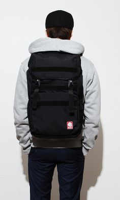 New Disaster Cordura Backpack. Laptop pocket inside.