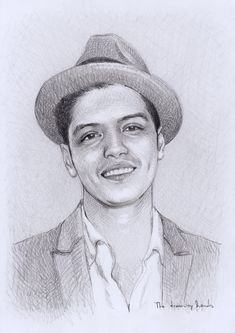 Bruno Mars by thedrawinghands on deviantART