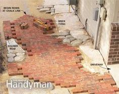 How to Build Pathways: Brick and Stone Pathways | The Family Handyman