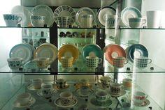 pientä mutta suurta : Old Arabia´s cups from International Coffee Cup museum at Posio, Finland