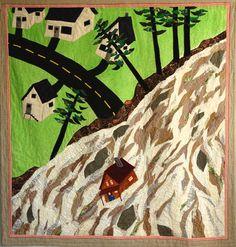 Bettina Matzkuhn | Vancouver, British Columbia, Canada | Weekly Artist Fibre Interviews | Fibre Art | International | Canadian | World of Threads Festival | Contemporary Fiber Art Craft Textiles | Oakville Ontario Canada ****