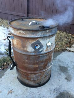 DIY Redneck Ugly Drum Smoker UDS