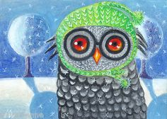 Lana-Wynne-Owl-With-No-Heat-8-x-10-Folk-Art-Print