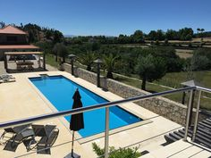 Pool at Bed and Breakfast Quinta da Cumieira - Portugal Travel