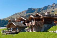 Rustic Swiss Ski Chalet In The Swiss Alps