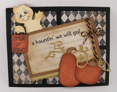 Happy Haunting Cricut Cartridge Card Idea @ Roystalaina more ideas!! =)