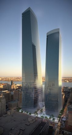 Manhattan West (Hudson Yards) | Tower One 1,216 ft  | Tower Two 935 FT | Skidmore Owings and Merrill LLP