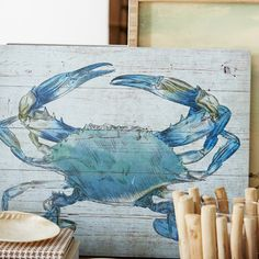 You'll love the Crab Graphic Art Plaque at Wayfair - Great Deals on all Décor  products with Free Shipping on most stuff, even the big stuff.