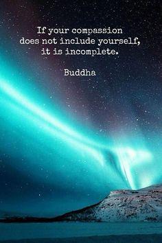 Self compassion...