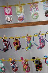 Headband display ideas.
