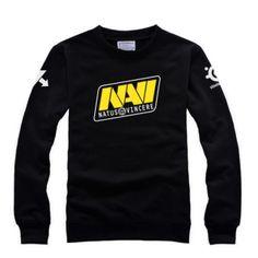 NAVI Dota 2 gaming team sweatshirt crew neck for boys