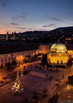 Pécs, Hungary <3 Hungary Travel, Danube River, Budapest Hungary, Central Europe, Romania, Countryside, Places To See, The Good Place, Castle
