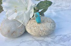 Boho Genuine Turquoise Ring by AshleyRoseCollective on Etsy created using high quality Arizona Turquoise gemstones.