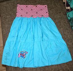 Aus Kleid wird Rock / Dress becomes skirt Rock, Skirts, Dresses, Fashion, Repurpose, Vestidos, Moda, Fashion Styles, Skirt