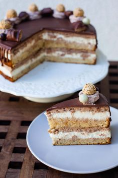 Torte Recepti, Kolaci I Torte, Baking Recipes, Cookie Recipes, Dessert Recipes, Torta Recipe, Torte Cake, Croatian Recipes, Recipes From Heaven