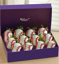 Most Valuable Berries™ A League of Their Own-- Movei Night Chocolate Covered Treats, Chocolate Dipped, Candy Cakes, Cupcake Cakes, Edible Arrangements, Flower Arrangements, Strawberry Dip, Birthday For Him, Diy Bouquet