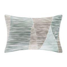 Bengal Embroidered Cotton Lumbar Pillow | Joss & Main