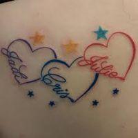 Resultado de imagem para initial tattoos
