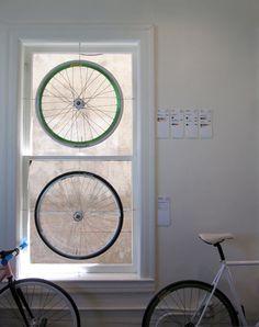 A cyclist's dreamcatchers?  #decor