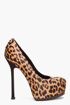Yves Saint Laurent Leopard Heels for women | So Hot!