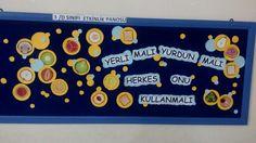 #bilge# yeli malı panosu. Hüseyin Hüsnü Tekışık ilkokulu... 3D sınıfı
