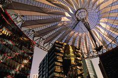 """""""Potsdamer Platz"""", Sony Centre."""