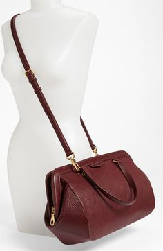 MARC BY MARC JACOBS 'Thunder Travel' Leather Satchel | Nordstrom