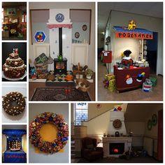 Silfenn's: Schoolversieringen Sinterklaas