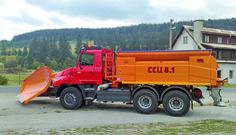 Tatra T163 Jamal Snow Plow, Fire Engine, Police Cars, Big Trucks, Czech Republic, Motor Car, Cars And Motorcycles, Techno, Transportation