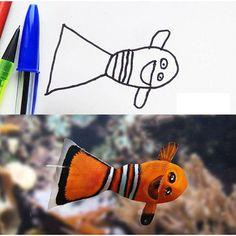 #2 Happy creepy Nemo