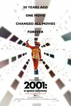 2001 A Space Odyssey 50th Anniversary Edition Movie Poster Fantastic Movie posters #SciFi movie posters #Horror movie posters #Action movie posters #Drama movie posters #Fantasy movie posters #Animation movie Posters