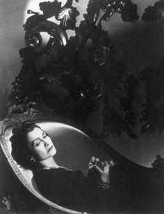 Ms Gabrielle 'Coco' Chanel - 1937 by Horst P. Horst