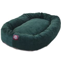 40 inch Marine Villa Collection Micro Velvet Bagel Dog Bed By Majestic Pet Products >>> Click on the image for additional details.Note:It is affiliate link to Amazon.