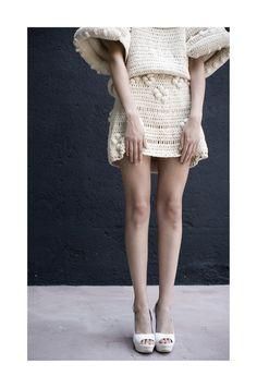 fashion magazine by Veronica Arenas, via Behance