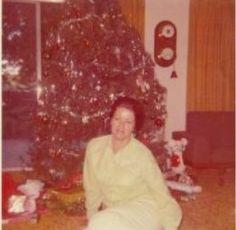My Mom Christmas 1972