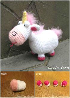Crochet Unicorn Pattern- 32 Free Crochet Patterns - DIY & Crafts