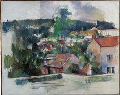 Paul Cézanne (1839-1906) Landscape 1888-1890. Oil on canvas. 65 x 81,2 cm. Ohara Museum of Art, Tokyo.