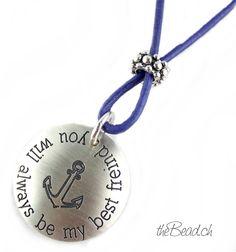 ♥ Friendship necklace / Halsschmuck für echte Freunde ♥