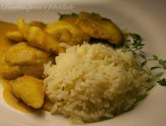 Bochechas de Tamboril em molho de Caril e Açafrão Rice, Food, Angler Fish, Pisces, Dishes, Recipes, Ideas, Beverages, Eten